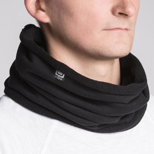Ombre Clothing Pánský nákrčník Neck černý - Glami.cz 878ffccef0