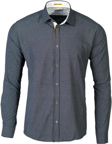 a85462b790d4 Repablo Moderná pánska košeľa Seed čierna - Glami.sk