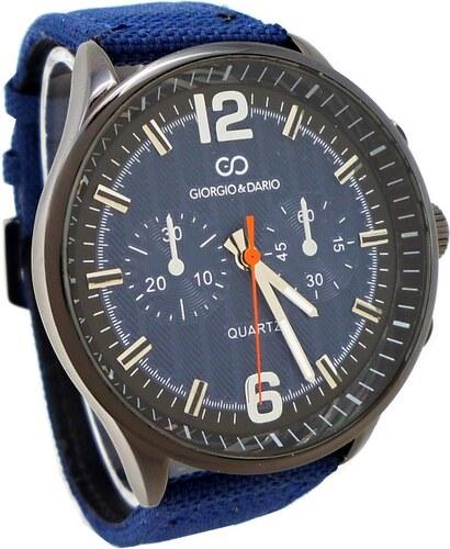 Pánské hodinky Giorgio Dario Arty modré 344P - Glami.cz d42ff3df9e