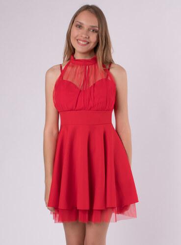 Audrey Krátke červené spoločenské šaty - Glami.sk b74bcff74c3