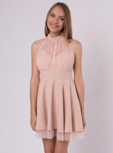Audrey Krátke marhuľové spoločenské šaty - Glami.sk 8aae9e2a6df