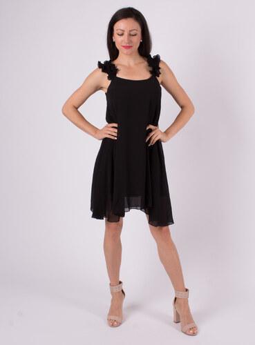 ITALIAN STYLE Elegantné voľné čierne šaty - Glami.sk 8f221d97cd4