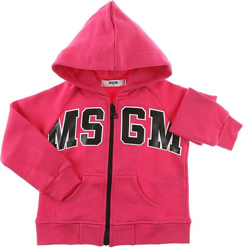 b62ba8dc22e6 MSGM Kojenecké mikiny a mikiny s kapucí pro holky Ve výprodeji ...