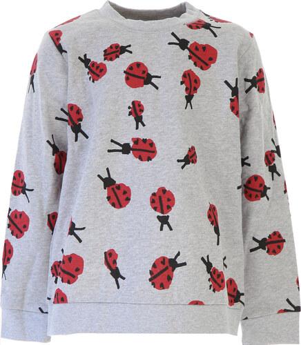 Nové Stella McCartney Dětské mikiny s kapucí   mikiny pro holky Ve výprodeji 09f02e5119