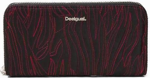 peňaženka Desigual Animal Stiching Fio negro - Glami.sk 094ca6bbcaa