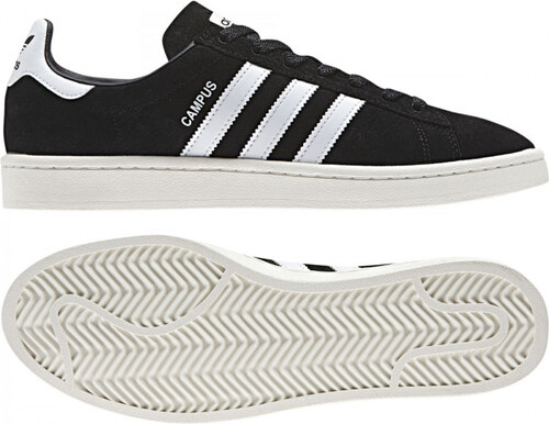 Pánske tenisky adidas Originals CAMPUS (Čierna   Biela) - Glami.sk 665fea35e7