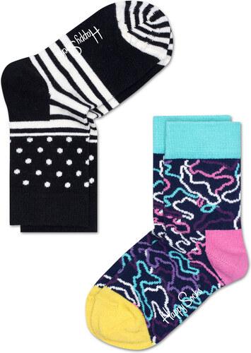 dfa2a3e2538 Dětské Dětské barevné ponožky Happy Socks