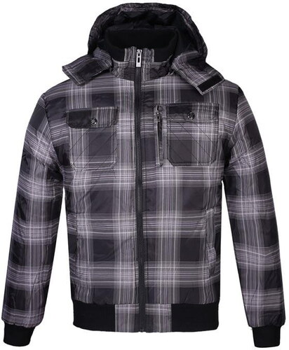 Lee Cooper férfi kapucnis cipzáras bélelt kabát - Glami.hu 1a3ee91fa7