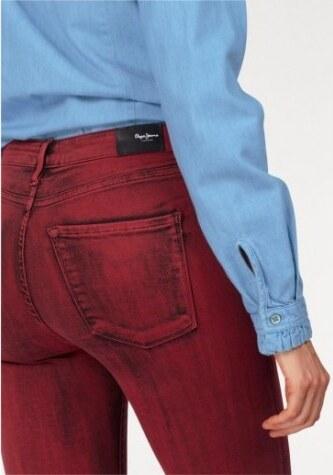 df73c114996 Červené džíny Pepe Jeans REGENT SCARLETT - Glami.cz