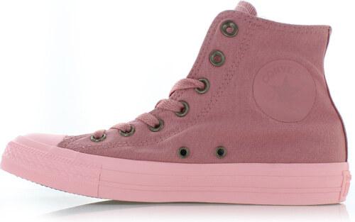Converse Dámske ružové vysoké tenisky Chuck Taylor All Star Botanical  Neutrals 810f3566649