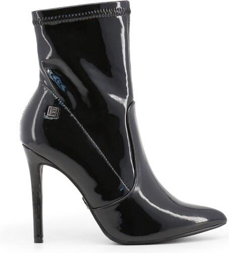 LAURA BIAGIOTTI Dámské kotníčkové boty na jehlovém podpatku Laura Biagiotti  Černá eda06219fc