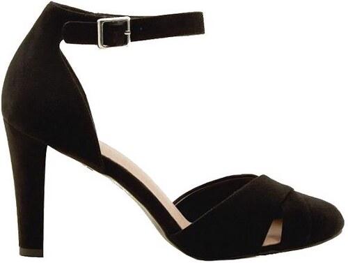 2aa9c323740c0 NEW LOOK Semišové sandále s páskou okolo členku - Glami.sk