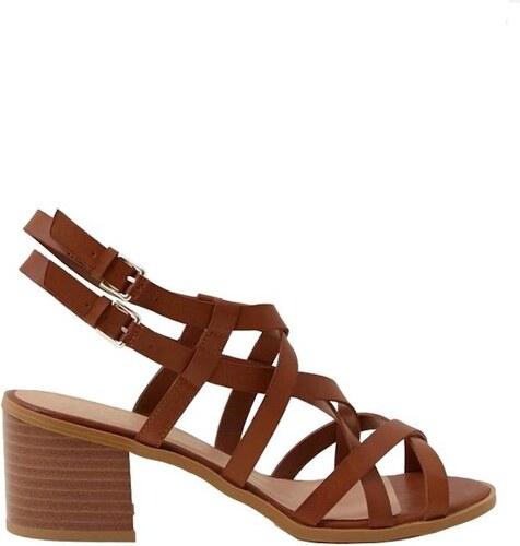 NEW LOOK Páskové sandály na širokém podpatku - Glami.cz 9be491b68a