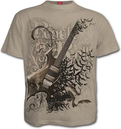 22c0767e679b Dedoles Béžové tričko Rocková kytara - Glami.cz