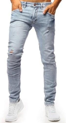 Manstyle Pánske jeans nohavice STYLE svetlo modré - Glami.sk 1a3e9463ed