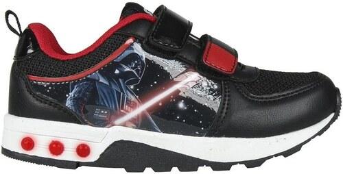 c1d3ff5e88e Disney Brand Chlapčenské svietiace tenisky Star Wars - čierne - Glami.sk
