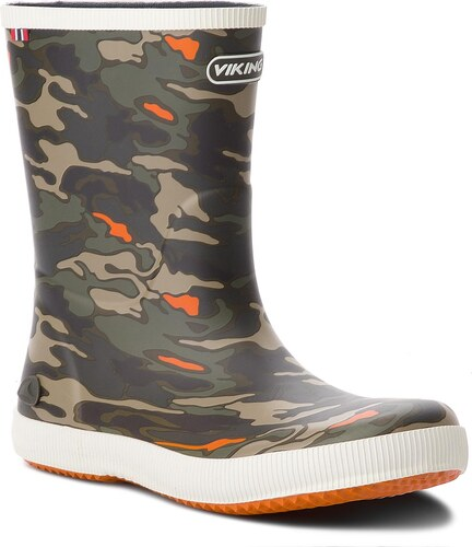 Gumáky VIKING - Classic Indie Camo 1-17200-450 Green Multi - Glami.sk dc276ef673