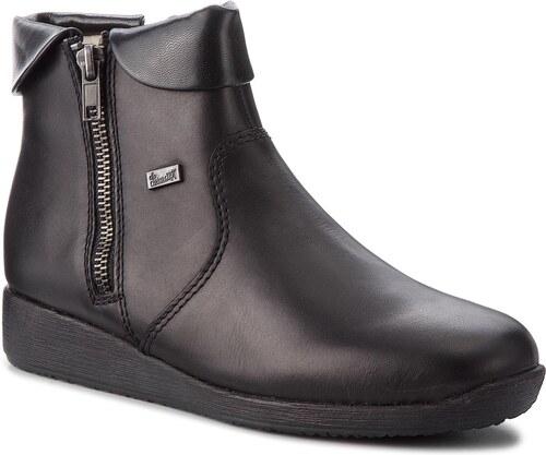 Magasított cipő RIEKER - 94061-00 Schwarz - Glami.hu d5977d592f