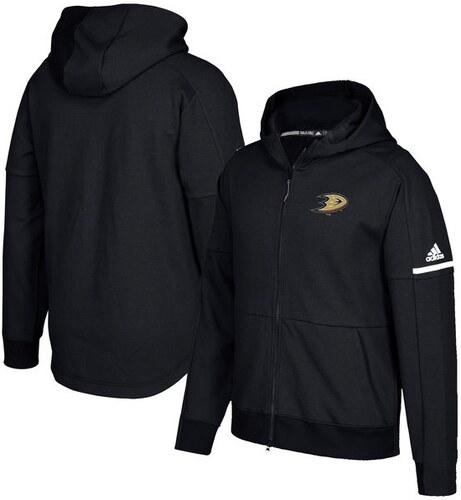 d9ae85b16f adidas Anaheim Ducks férfi kapucnis pulóver black Authentic Pro Squad ID  Full-Zip Hood