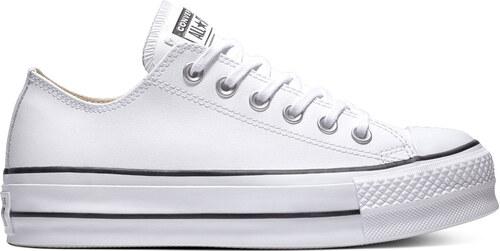 -30% Converse Chuck Taylor All Star Lift Clean Low Top bílé C561680 7f8d2fbba1