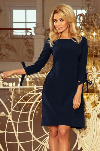 928adad90932 Numoco Elegantné šaty 195-5 modré - Glami.sk