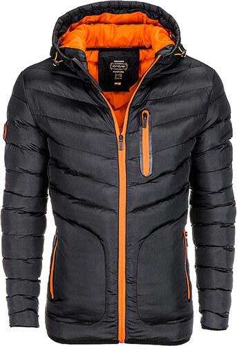 Ombre Clothing Modern férfi steppelt dzseki Walt fekete - Glami.hu 481d1e862c