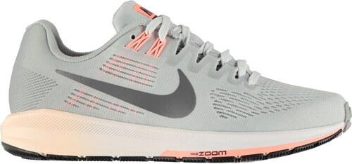 Nike Air Zoom Structure 21 dámské běžecké boty Grey DkGrey - Glami.cz bc87cfc5220