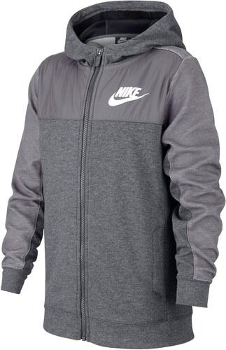 Nike Advance Full Zip Dětská mikina s kapucí pro kluky - Glami.cz 2aa671891c4