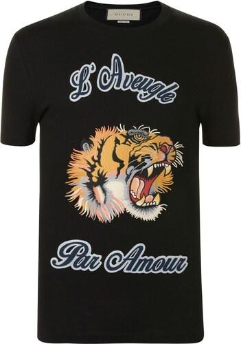 e2d93c70cd Rövid ujjú póló Gucci Tiger Amour T Shirt - Glami.hu