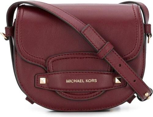 Michael Michael Kors Carry small saddle bag - Red - Glami.cz b4ccc677488