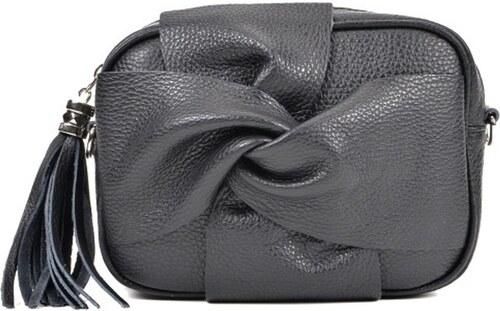 Čierna kožená kabelka Roberta M Kara Nero - Glami.sk 84cdc489ab2