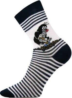 Detské ponožky Boma Krtko tmavomodré - Glami.sk 60774e4828