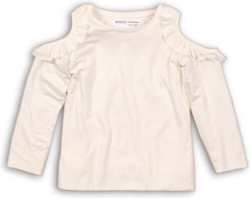 22a7a252ab45 Minoti PETAL 9 Tričko dievčenská s dlhým rukávom a holými ramenami ...