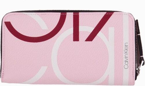 Calvin Klein svetlo ružová peňaženka CK Base Lrg Zip Around XL ... 10b0c43da4c