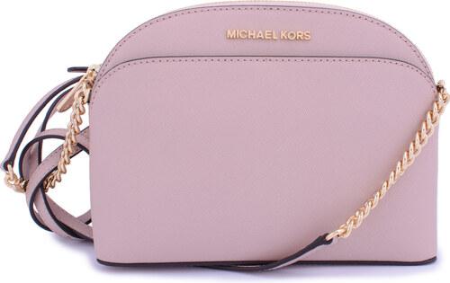 Michael Kors Emmy Leather MD Crossbody růžová - Glami.cz 36f94e6cf67