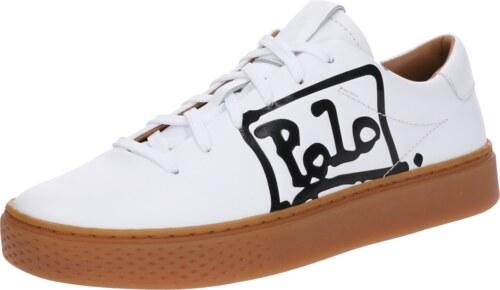 POLO RALPH LAUREN Tenisky  COURT 125  černá   bílá - Glami.cz e90bde2478e