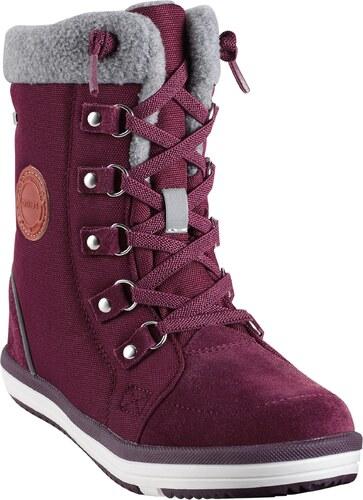 9263aee6a68a Reima Chlapčenské zimné topánky Freddo - vínové - Glami.sk