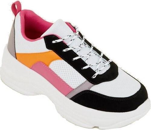 NEW LOOK Pestrofarebné vyvýšené tenisky - Glami.sk 5c5fa82607d