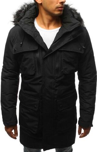 Fekete parka kabát - Glami.hu c15827440d