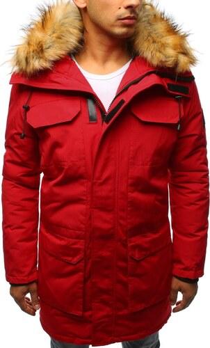 Piros téli parka kabát - Glami.hu 13ec0a0bd5