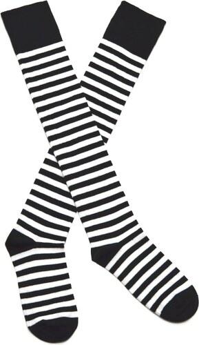Nadkolenky Socks 4 Fun 2721 černobílé - Glami.cz 3a7a9166af