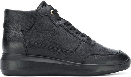 Geox wedge lace-up sneakers - Black - Glami.cz a28d51e6d65