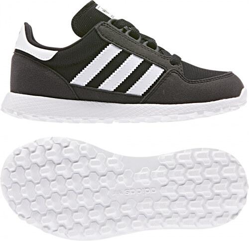 -30% Detské tenisky adidas Originals FOREST GROVE C (Čierna   Biela) a507393e17f