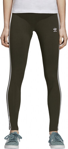 a4920118313 Dámské legíny adidas Originals 3 STR TIGHT (Zelená) - Glami.cz