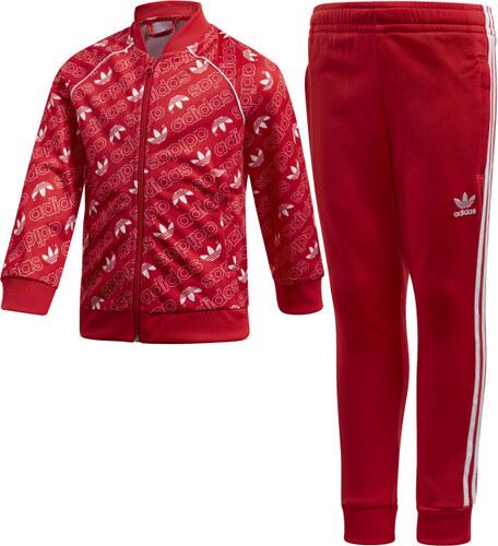 f403366b614c7 Súprava adidas Originals L TRF M SST (Červená / Biela) - Glami.sk