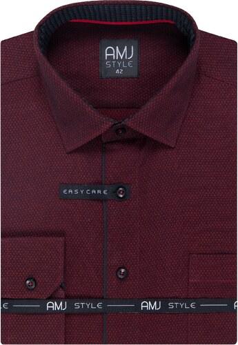 Pánská košile AMJ Style - Glami.cz b57c1f9e74