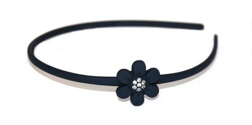 Hair-bizuterie čelenka plastová s květem Barva  tmavě modrá - Glami.cz 3f02f61e86