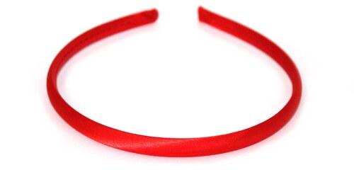 Hair-bizuterie Saténová čelenka Barva  červená - Glami.cz 399f117ef2
