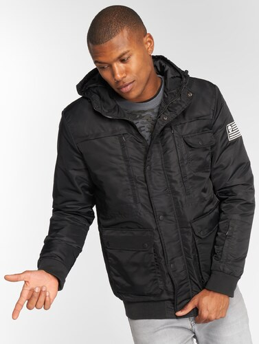 Pánska zimná bunda Thug Life   Winter Jacket Divers in black - Glami.sk 9bae978bb07