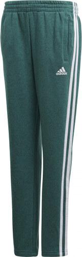 Chlapecké tepláky adidas Performance YB 3S FT PANT (Zelená   Biela ... cb83e632a6